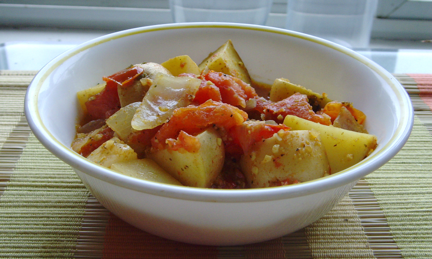 Curried Potatoes and Veggies