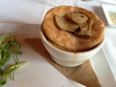 Porcini Mushroom Pot Pie  from Millennium Restaurant in San Francisco