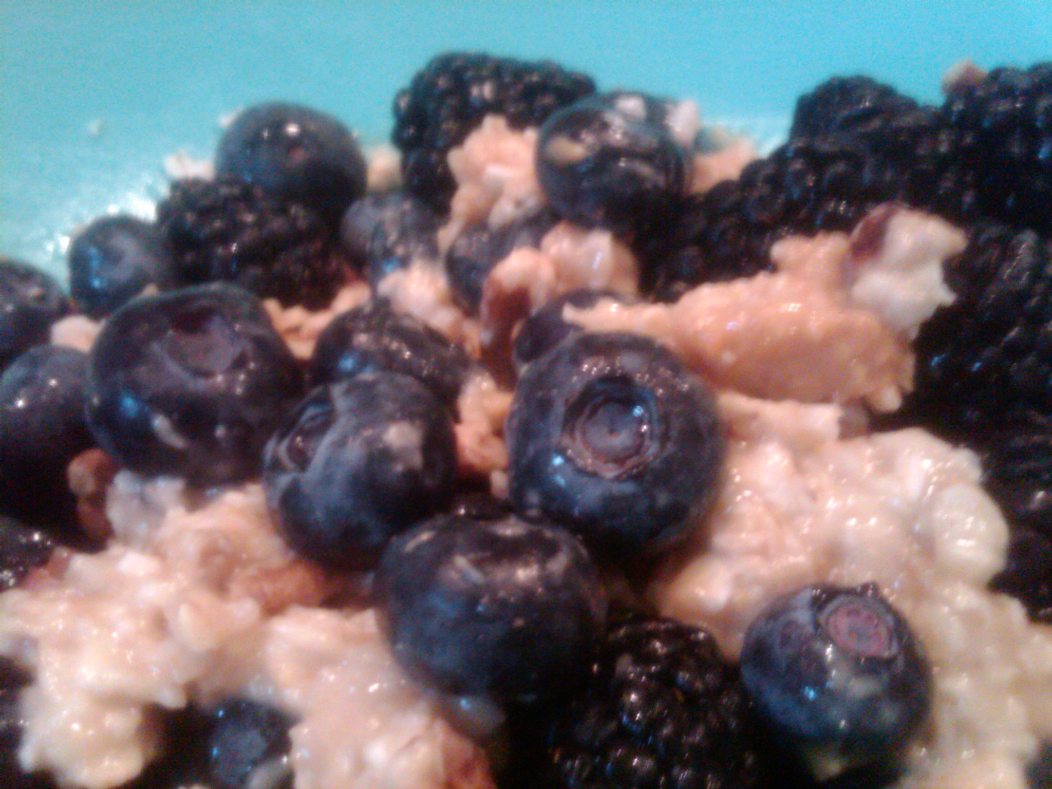 Yummy Nutty Berries Oatmeal